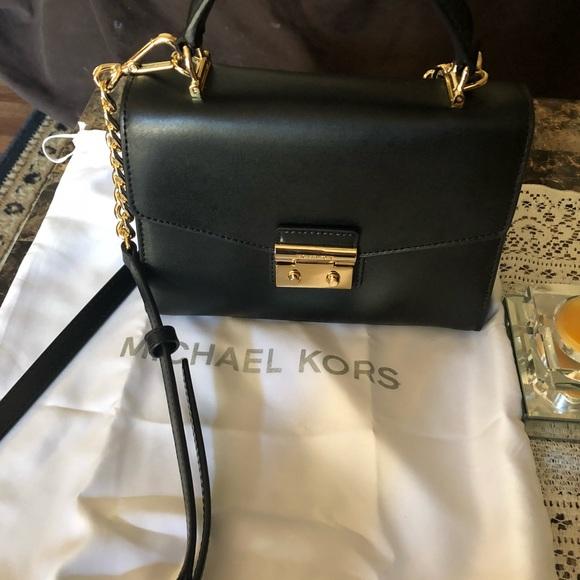 8fcd471e95 Michael Kors Sloan small satchel Black New